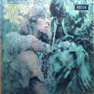 John Mayall - Blues From Laurel Canyon - Album Cover
