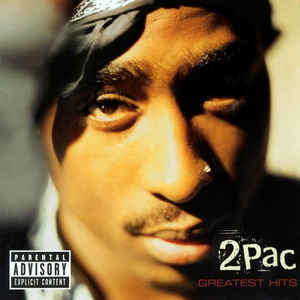 2Pac - Greatest Hits - Album Cover