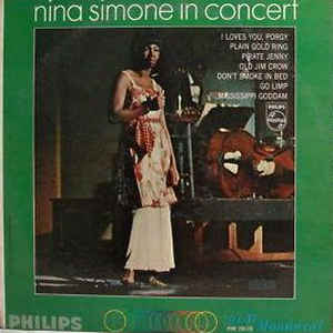 Nina Simone - In Concert - Album Cover