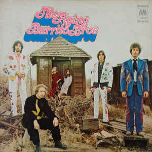 The Flying Burrito Bros - The Gilded Palace Of Sin - Album Cover