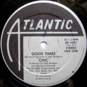 Chic - Good Times - Album Cover