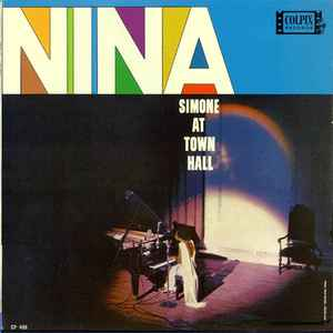 Nina Simone - Nina Simone At Town Hall - Album Cover