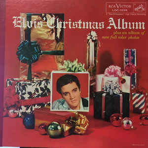 Elvis' Christmas Album - Album Cover - VinylWorld