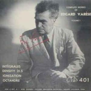Complete Works Of Edgard Varèse, Volume 1 - Album Cover - VinylWorld