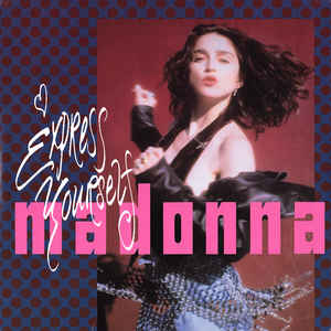 Madonna - Express Yourself / The Look Of Love - Album Cover