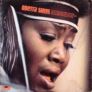 Odetta - Odetta Sings - Album Cover