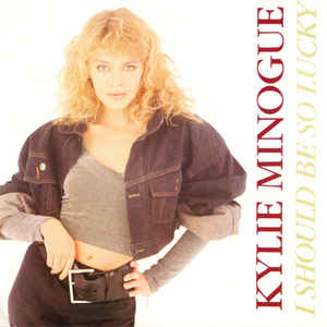 Kylie Minogue - I Should Be So Lucky - Album Cover