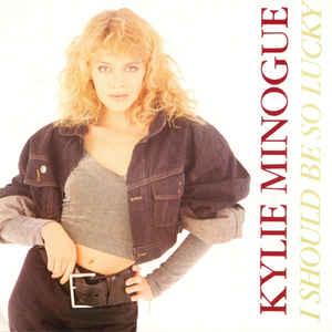 Kylie Minogue - I Should Be So Lucky - Album Cover