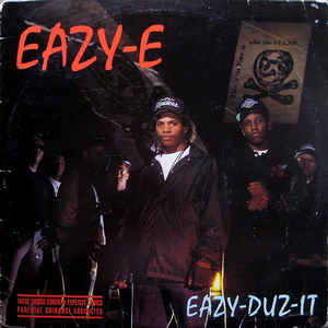 Eazy-E - Eazy-Duz-It - Album Cover