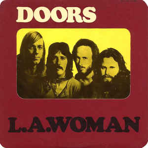 The Doors - L.A. Woman - Album Cover