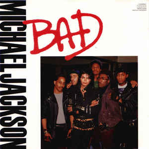 Michael Jackson - Bad - Album Cover