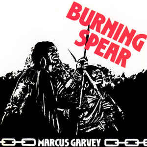 Burning Spear - Marcus Garvey - Album Cover