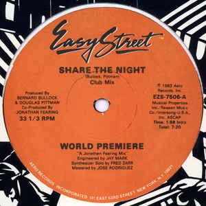 World Premiere (2) - Share The Night - VinylWorld