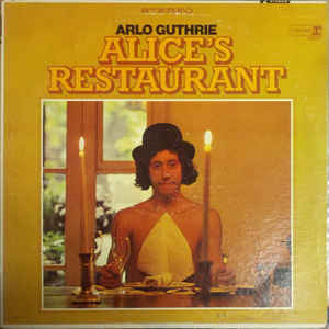 Alice's Restaurant - Album Cover - VinylWorld