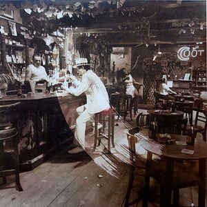Led Zeppelin - In Through The Out Door - Album Cover
