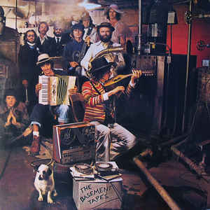 Bob Dylan - The Basement Tapes - Album Cover