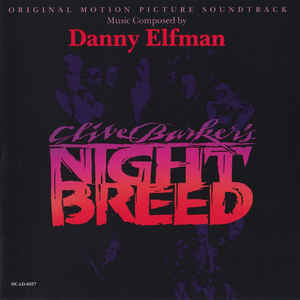Danny Elfman - Clive Barker's Nightbreed (Original Motion Picture Soundtrack) - Album Cover