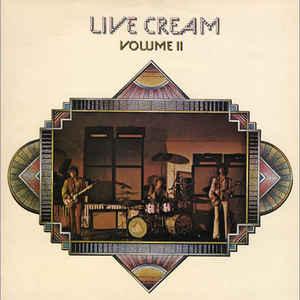 Cream (2) - Live Cream Volume II - Album Cover