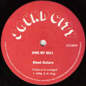Blood Sisters - Ring My Bell - Album Cover