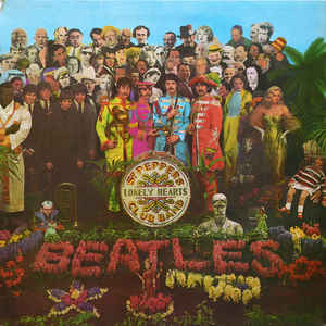 Sgt. Pepper's Lonely Hearts Club Band - Album Cover - VinylWorld