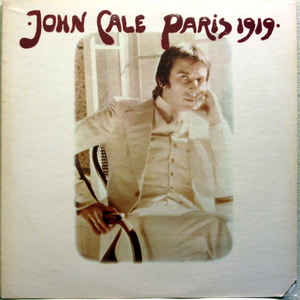 John Cale - Paris 1919 - Album Cover