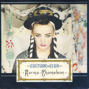 Culture Club - Karma Chameleon - Album Cover