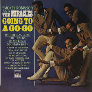 Smokey Robinson - Going To A Go-Go - Album Cover