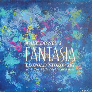 Walt Disney's Fantasia - Album Cover - VinylWorld