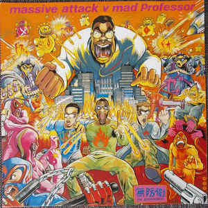 Massive Attack - No Protection - Album Cover
