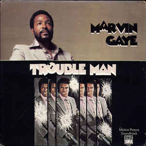 Marvin Gaye - Trouble Man - Album Cover