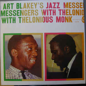 Art Blakey's Jazz Messengers With Thelonious Monk - Album Cover - VinylWorld