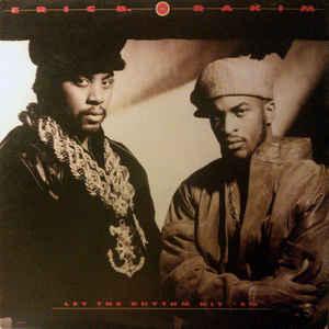 Eric B. & Rakim - Let The Rhythm Hit 'Em - Album Cover