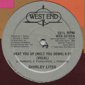 Shirley Lites - Heat You Up (Melt You Down) - VinylWorld