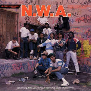 N.W.A. - Panic Zone / Dope Man / 8-Ball - Album Cover