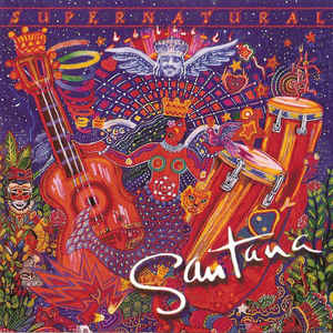 Santana - Supernatural - Album Cover