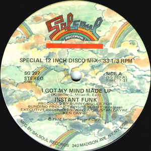 Instant Funk - I Got My Mind Made Up / Wide World Of Sports - VinylWorld