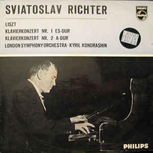 Sviatoslav Richter - Klavierkonzert Nr. 1 Es-Dur / Klavierkonzert Nr. 2 A-Dur - Album Cover