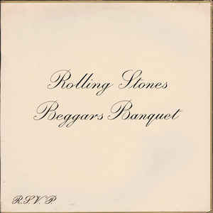 The Rolling Stones - Beggars Banquet - Album Cover