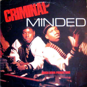 Criminal Minded - Album Cover - VinylWorld