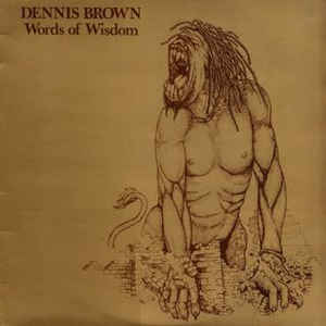 Dennis Brown - Words Of Wisdom - Album Cover