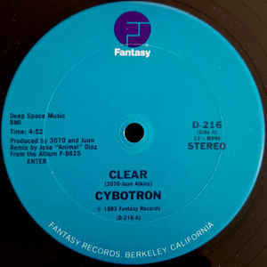 Cybotron - Clear - Album Cover