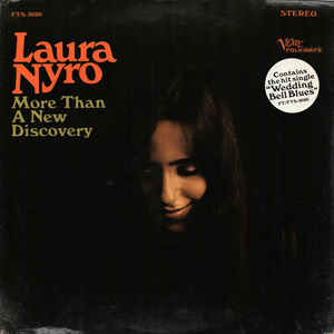 Laura Nyro - More Than A New Discovery - Album Cover