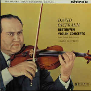 Ludwig van Beethoven - Violin Concerto In D Major, Op. 61 - Album Cover