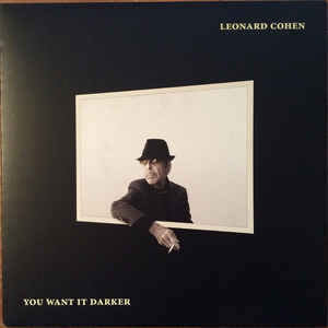 Leonard Cohen - You Want It Darker - Album Cover