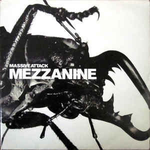 Massive Attack - Mezzanine - Album Cover