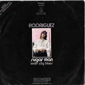 Sixto Rodriguez - Sugar Man  - Album Cover