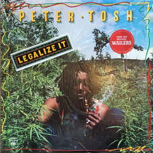 Peter Tosh - Legalize It - Album Cover