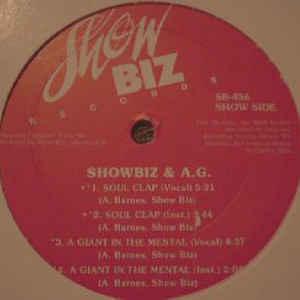 Showbiz & A.G. - Soul Clap EP - Album Cover