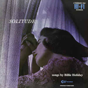 Billie Holiday - Solitude - Album Cover
