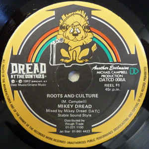 Mikey Dread - Roots And Culture / Jungle Dread - Album Cover